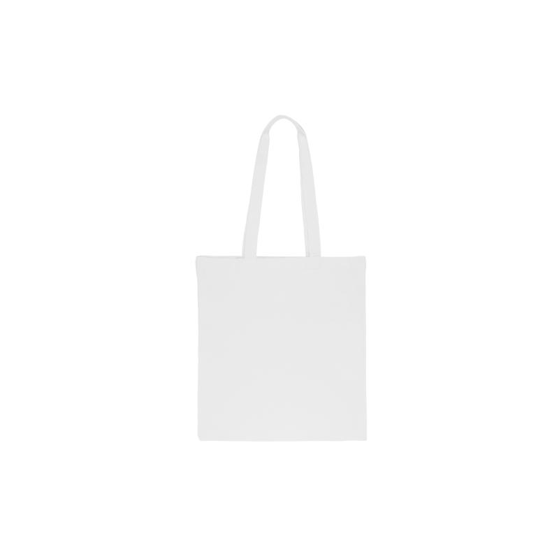 1 ks. Bavlněná taška 38 x 42 cm s dlouhými uchy - bílá