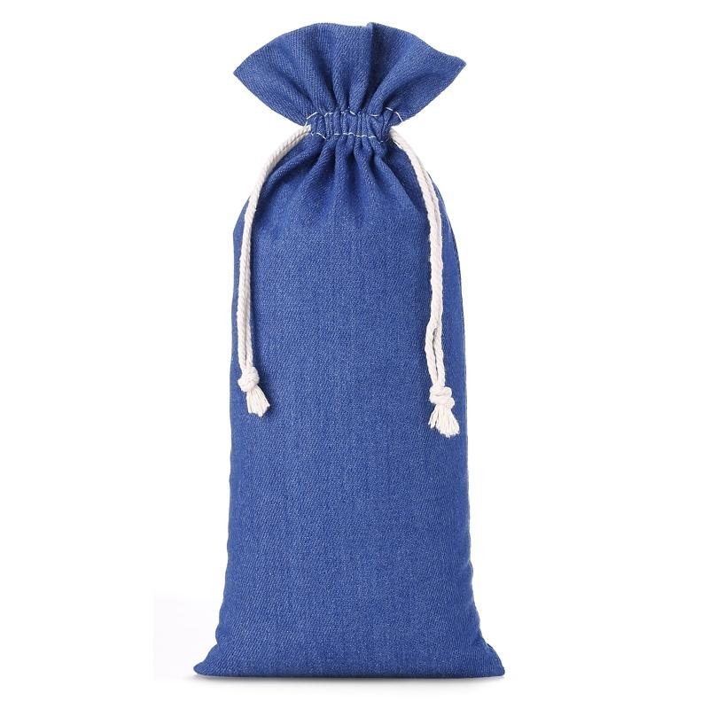 1 ks Džínové tašky 16 x 37 cm - modré
