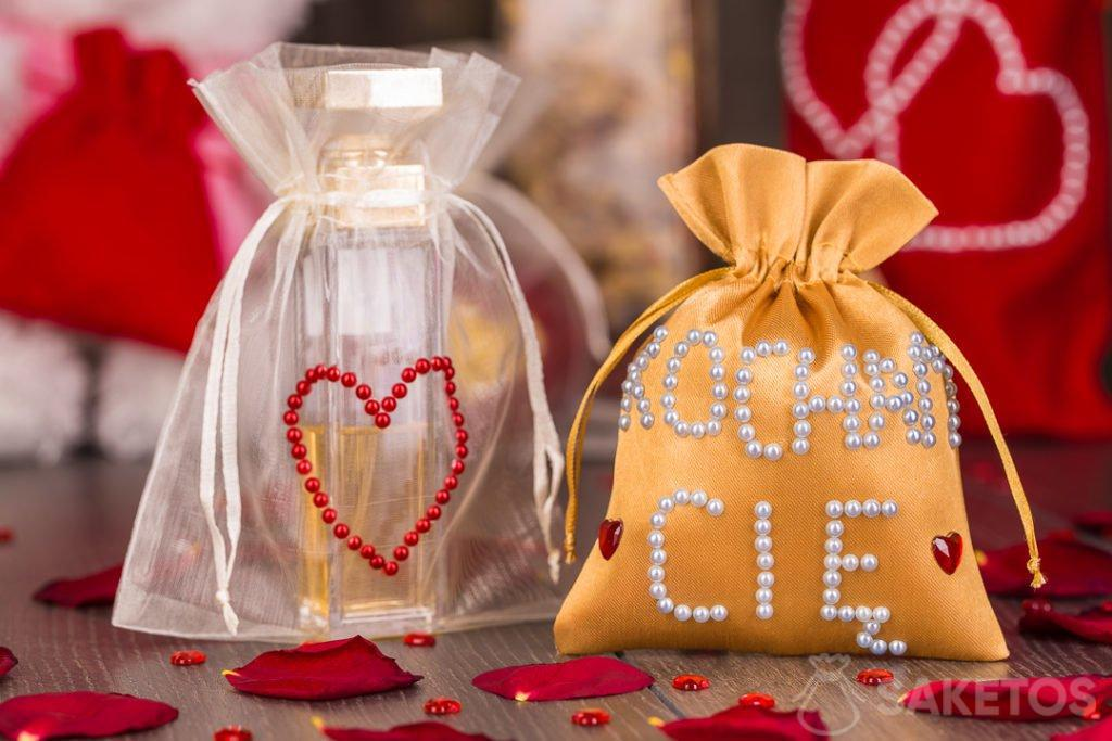 Valentýnské tašky DIY