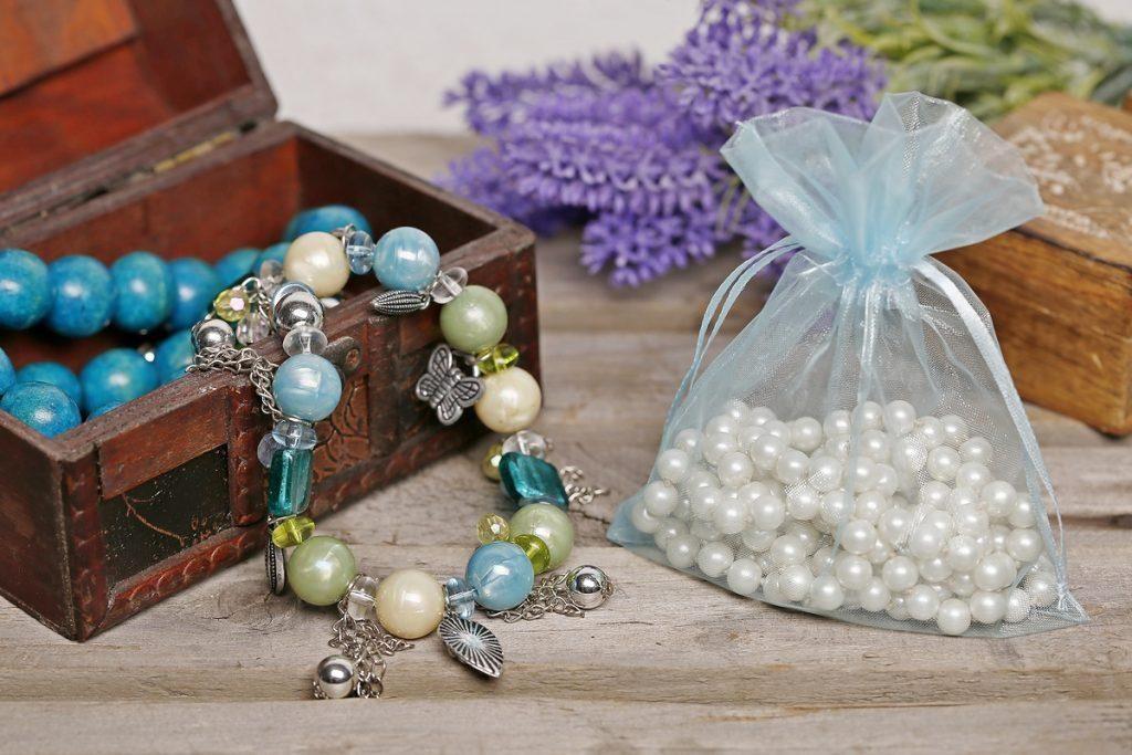 přechovávání šperků