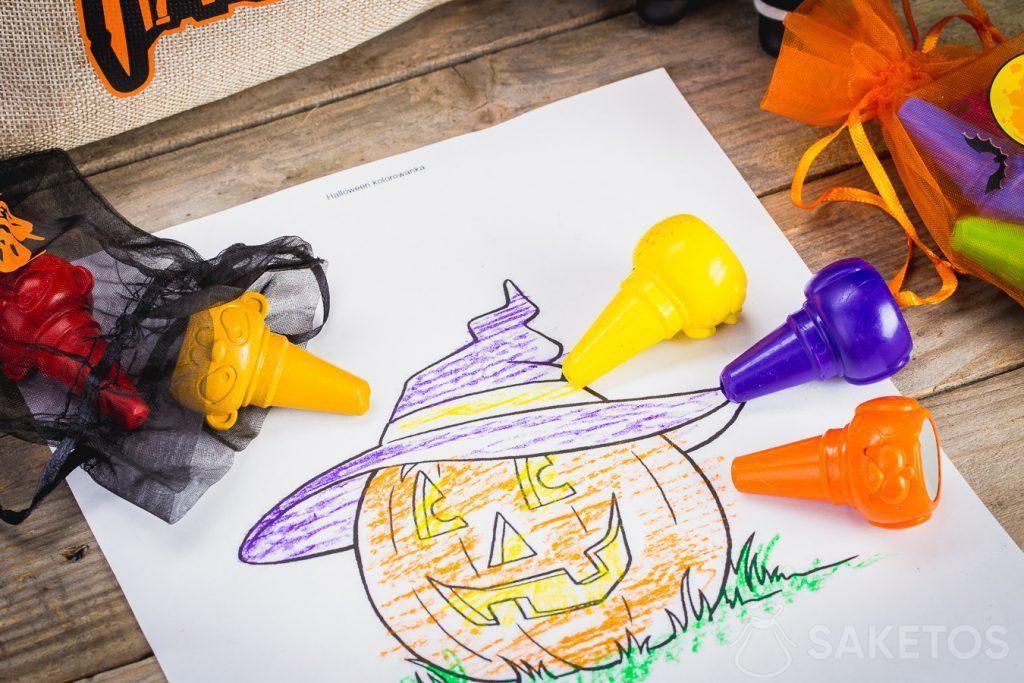 Ozdobné sáčky na Halloween jsou také vhodné pro skladování malých předmětů