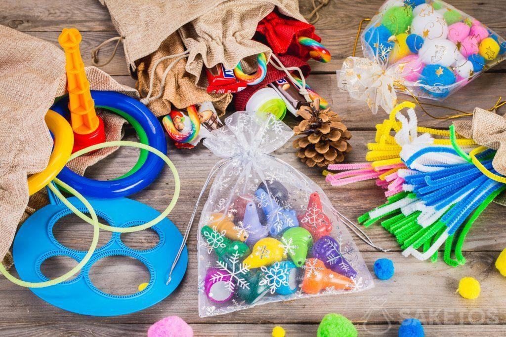 Sáčky jsou ideální pro skladování hraček