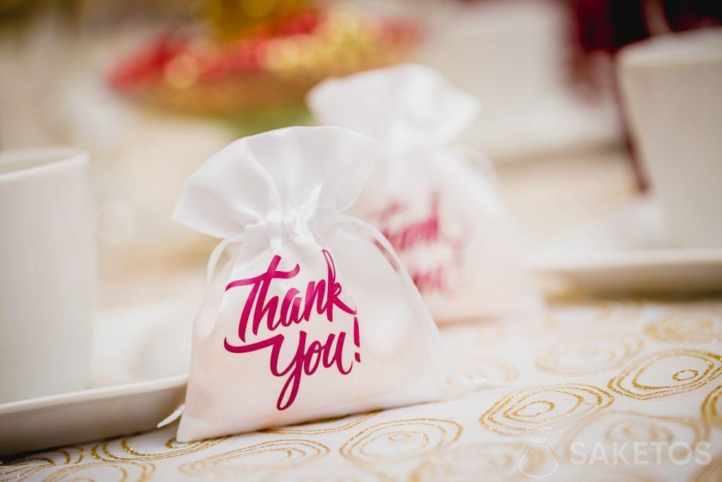 Díky svatebním hostům