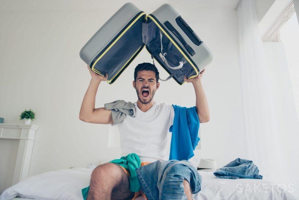 Balení kufru může být snadné.