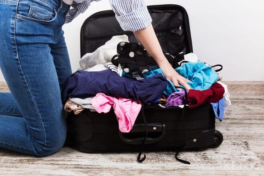 Organizéry do cestovní tašky vám pomohou vyhnout se tomuto pohledu.