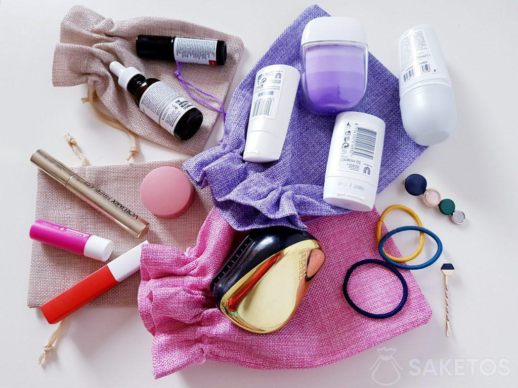 Sáčky na přenos kosmetiky