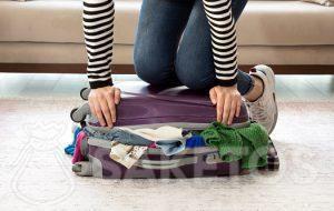 Chytré balení kufru