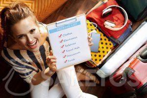 Před balením připravte checklist na výlet!