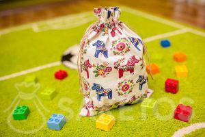 6.Dekorativní sáček pro dětský pokoj pro kostky Lego Duplo