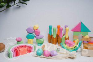 2.Dřevěné hračky pro děti