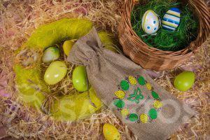 Balení pro velikonoční obchodní dárky